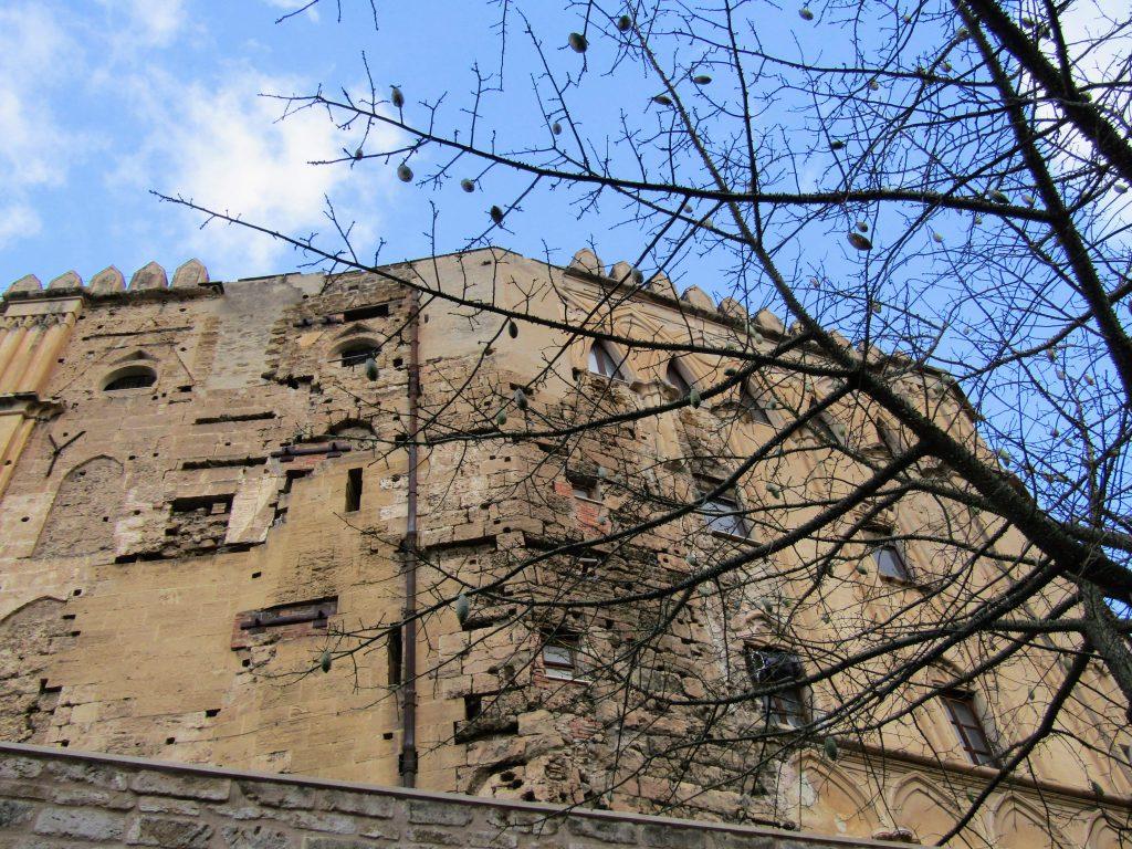 Palazzo dei Normanni: elementi medioevali