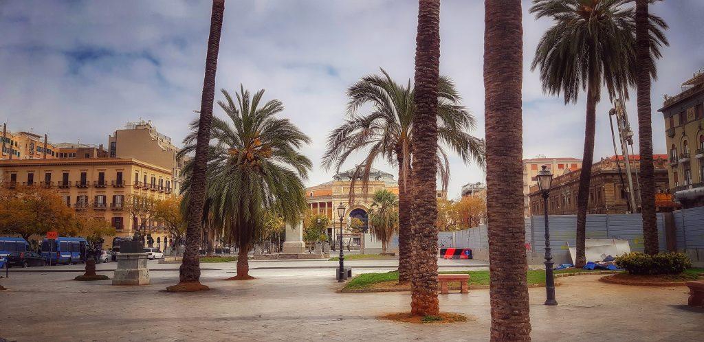 Epidemie a Palermo: città deserta al tempo del coronavirus