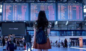 Aeroporto voli cancellati coronavirus