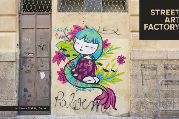 Murales street art factory di Ugo Brancato