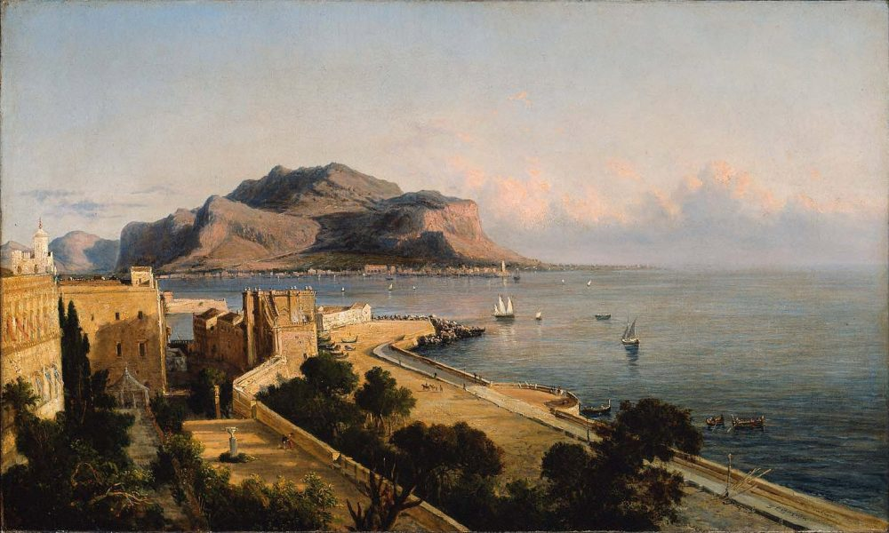 1856 Motepellegrino Palermo Bygeorgelbrown Mfaboston