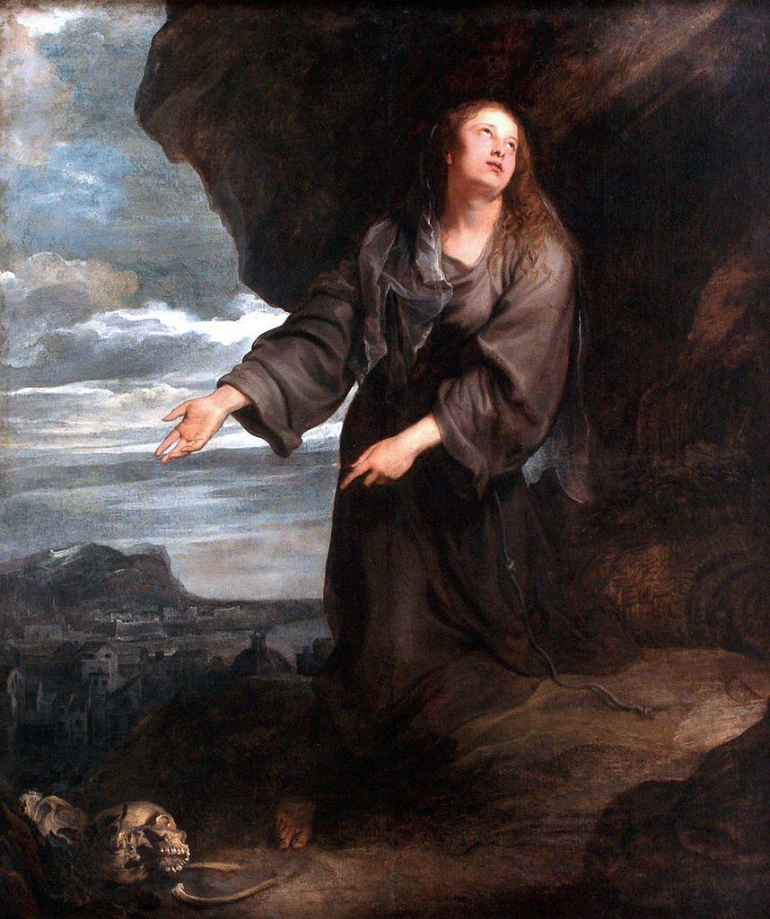 Antoon Van Dyck Santa Rosalía Intercediendo Por La Ciudad De Palermo 1