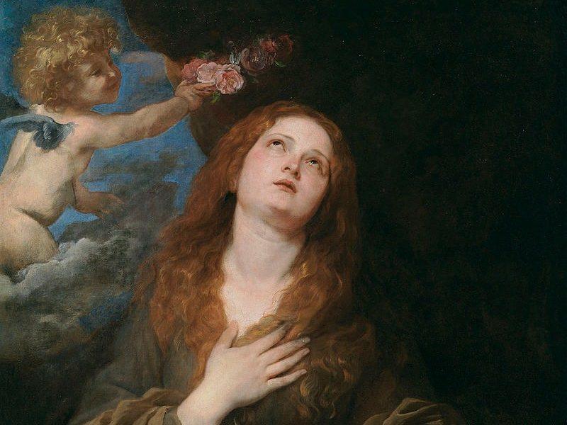 Santa Rosalia Antoon Van Dyck Prado 084315