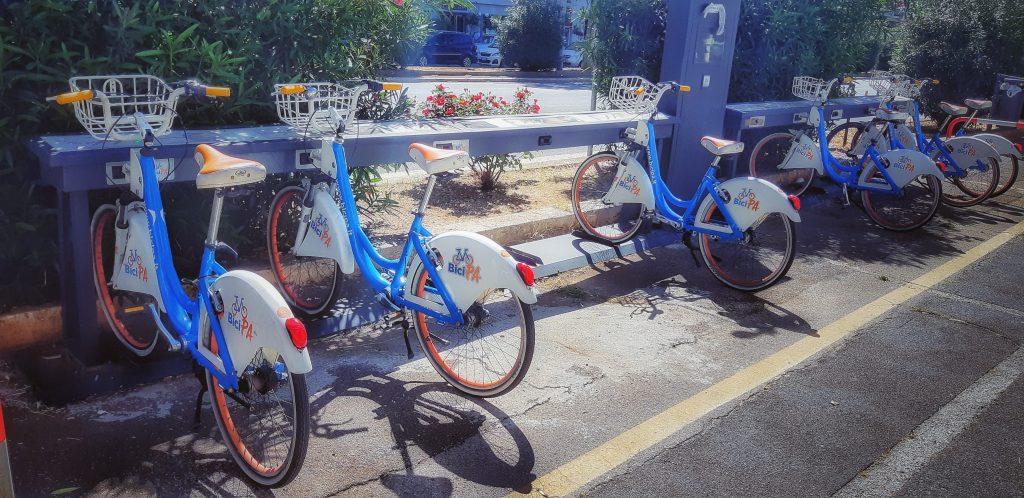 Palermo e le biciclette: il bike sharing