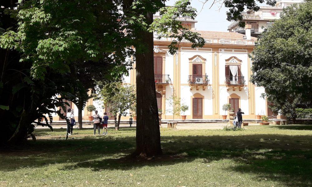Facciata edificio Villa Trabia