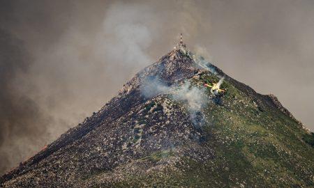Fotoreportage Di Vincenzo Russo Sull'ultimo Devastante Incendio Su Monte Cuccio (pa)