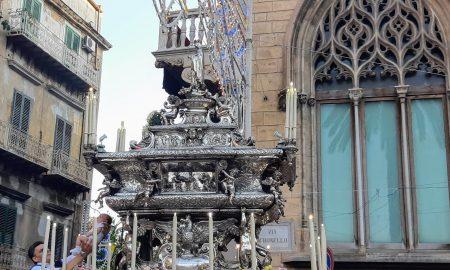 Festino di Santa Rosalia: reliquie in processione nel luglio 2019