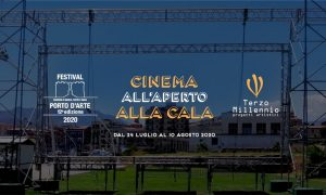 Cinema all'aperto alla cala