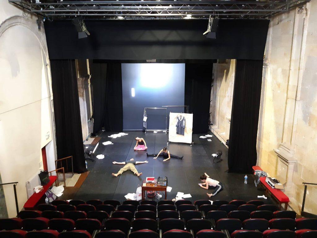 Prove di Un4tunateTales al Teatro Libero di Palermo