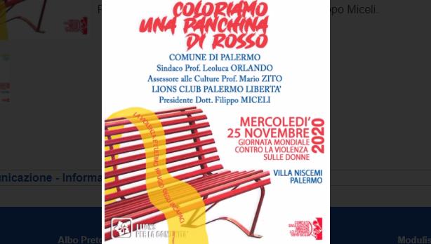 Panchina Rossa Orlando