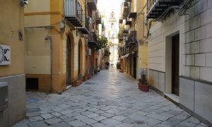 Via dell'Orologio a Palermo
