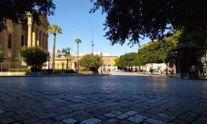 Piazza Teatro Massimo a Palermo