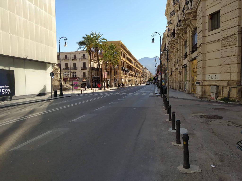 Palermo in zona rossa, Comune