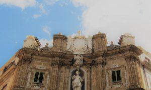 Sant'Agata a Palermo: posto d'onore nei Quattro Canti