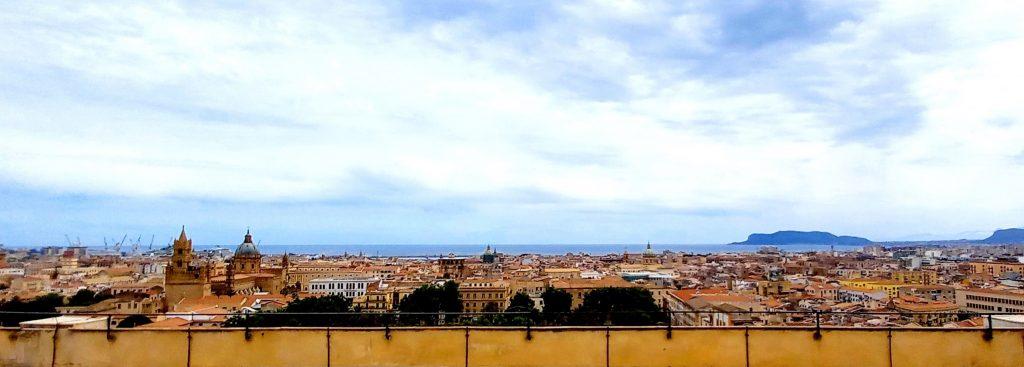 Museo della Specola, panorama di Palermo