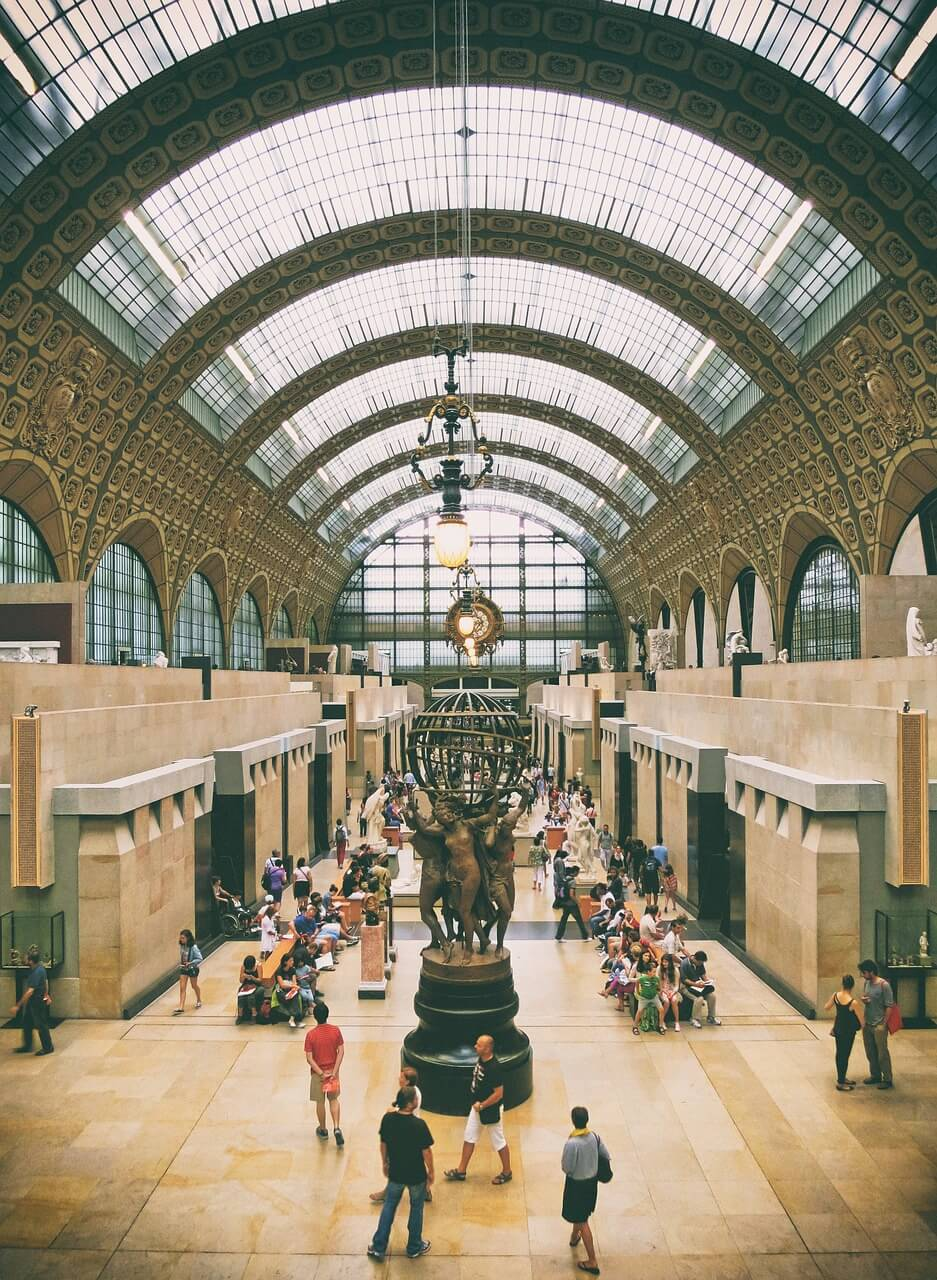 entrata serale museo d'Orsay