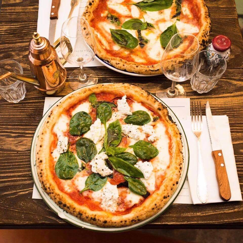 Pizza senza glutine a Parigi