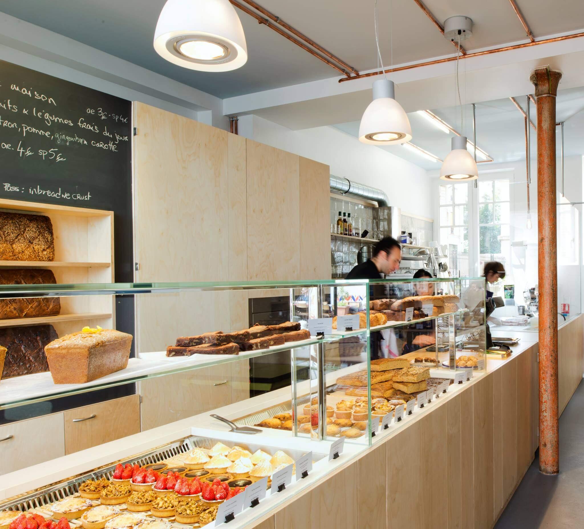 Boulangerie senza glutine a Parigi