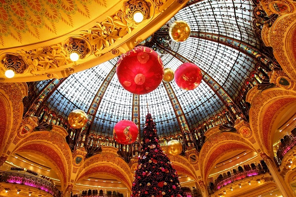 Natale alle Galeries Lafayette