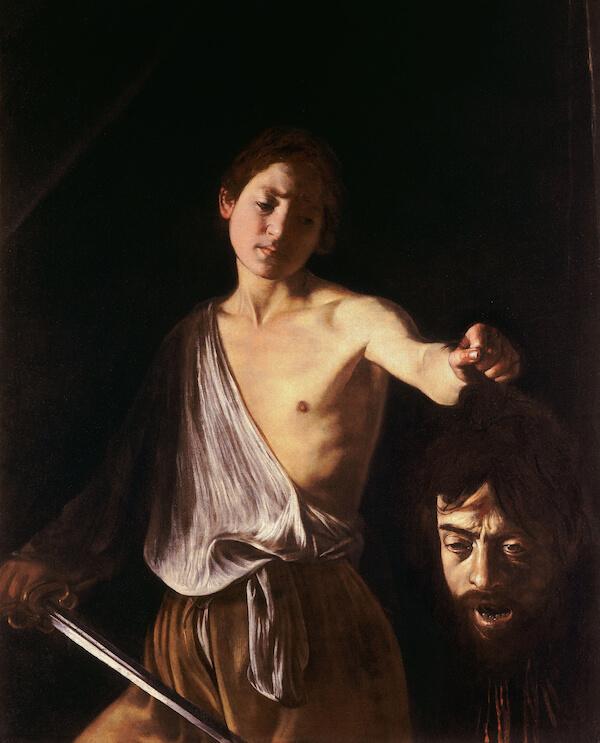 David con la testa di Golia Caravaggio
