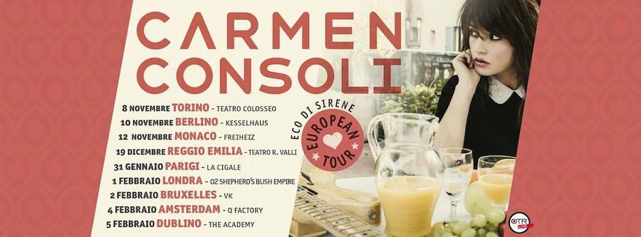 Carmen Consoli a Parigi