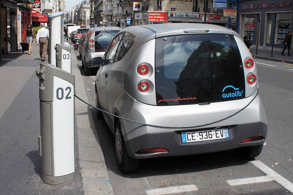 Autolib' a Parigi (Bluecar)