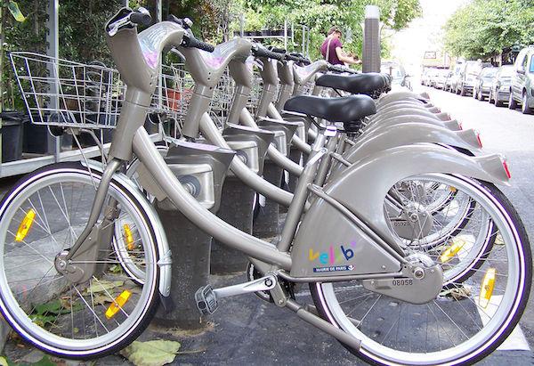 Vecchi Velib' Parigi
