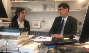 Incontro col direttore dell'Istituto Italiano di Cultura