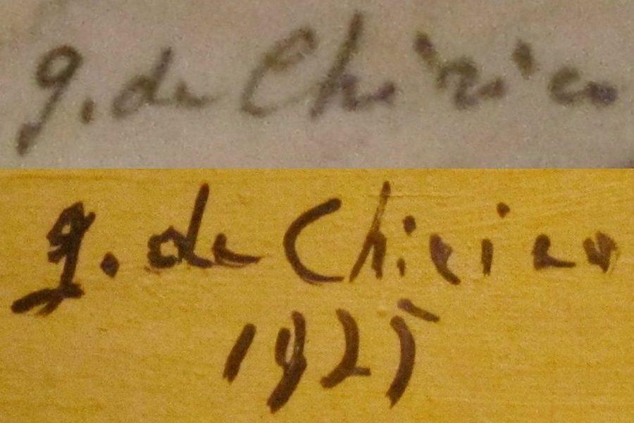 Reading De Chirico