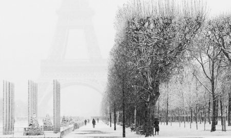 Parigi come in Siberia, temperature da brividi