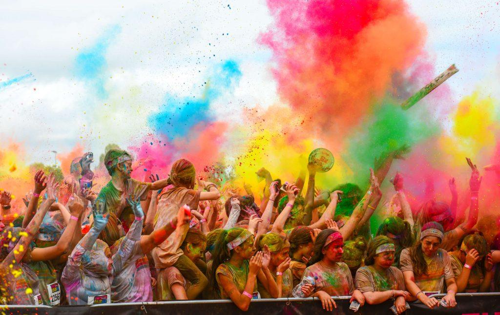 un weekend di tutti i colori