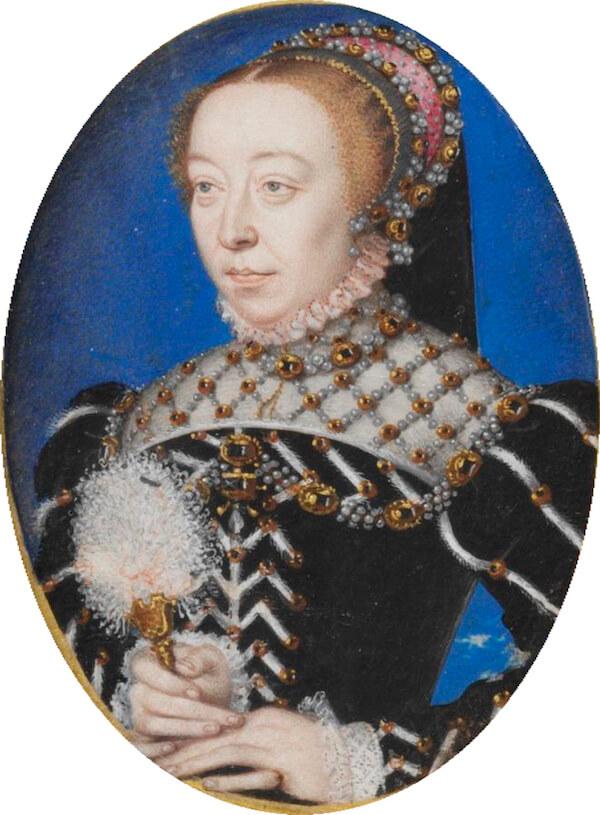 Catherine De Medici uomo in rosso
