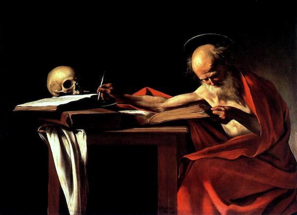 Caravaggio San Girolamo
