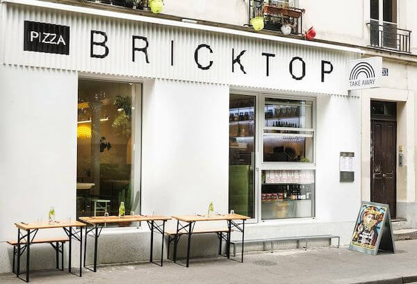 Bricktop pizza italiana Parigi