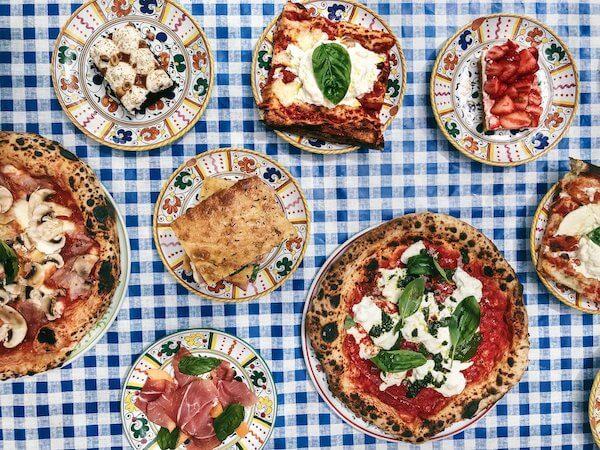 Felicità Parigi mangiare italiano