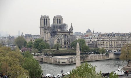 cattedrale notre dame vista dall'alto