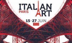 Locandina Italian Art Paris 2019