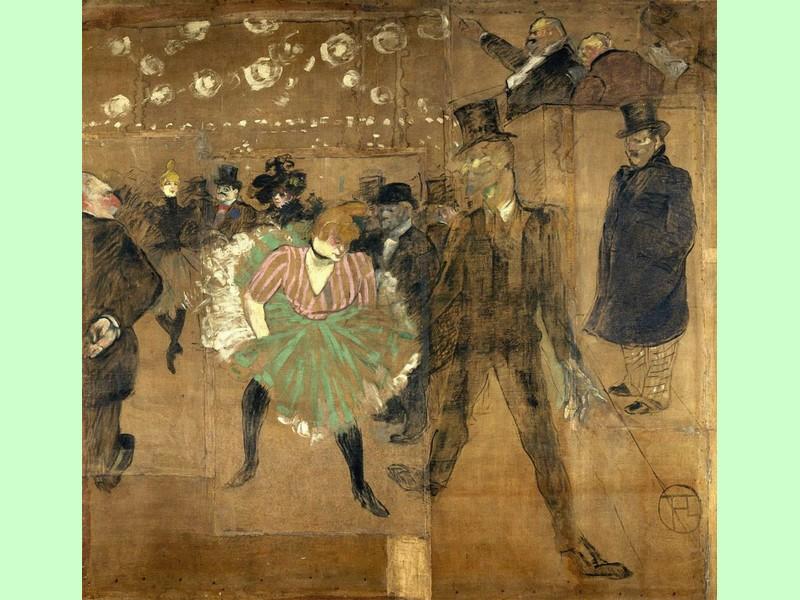 La danza moresca e La Goulue - Toulouse-Lautrec 1895 © Grand Palais