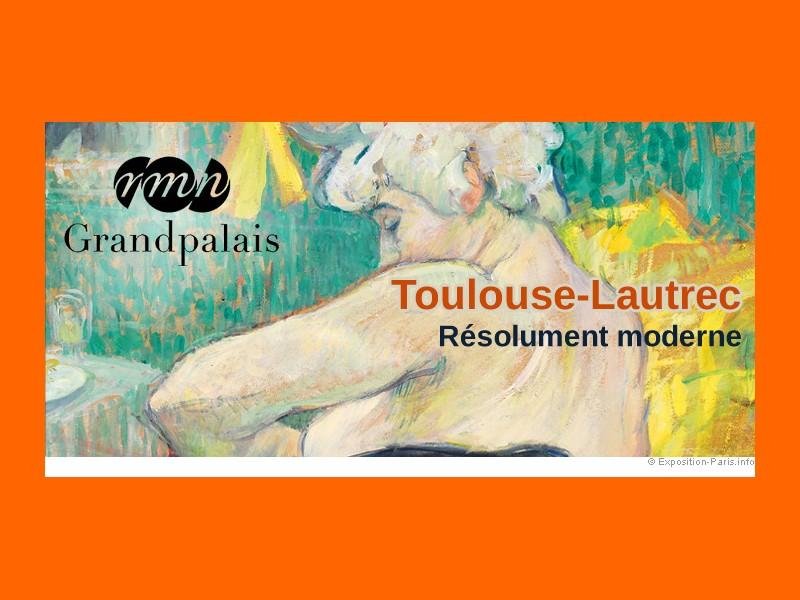 Locandina mostra Toulouse-Lautrec al Grand Palais © Grand Palais