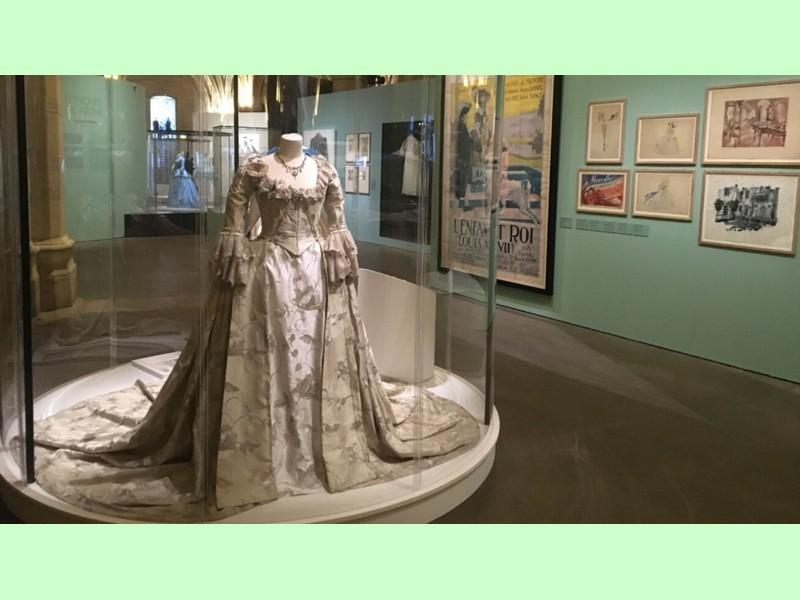 Maestoso abito di Maria Antonietta alla Conciergerie