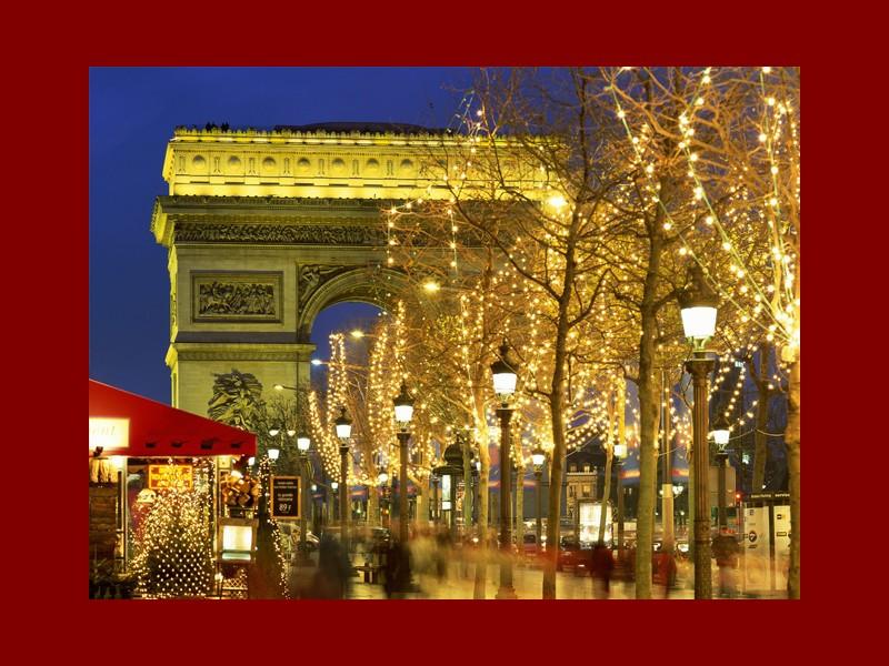 Mercatini di Natale sugli Champs Elysees