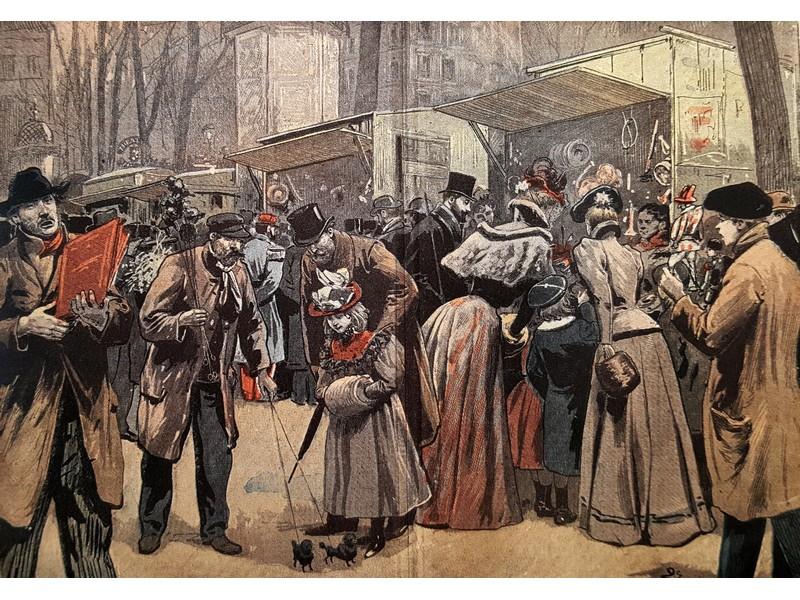 Mercatini di Natale a Parigi (fine 1800)