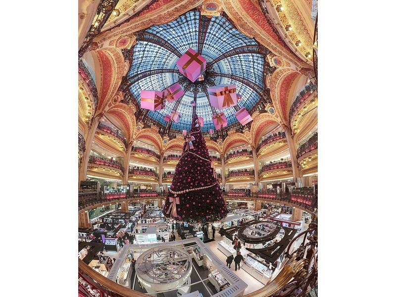 Il Natale ai Magazzini Lafayette