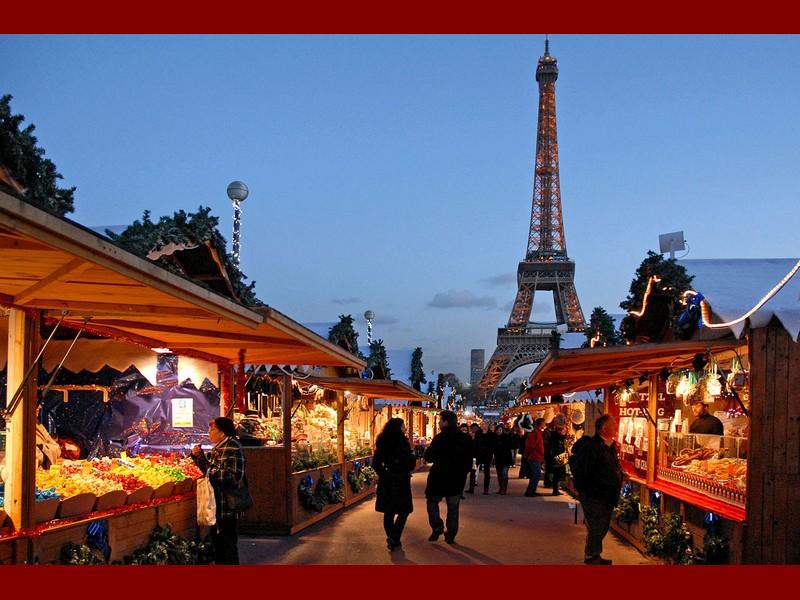 Mercatini di Natale al Trocadero