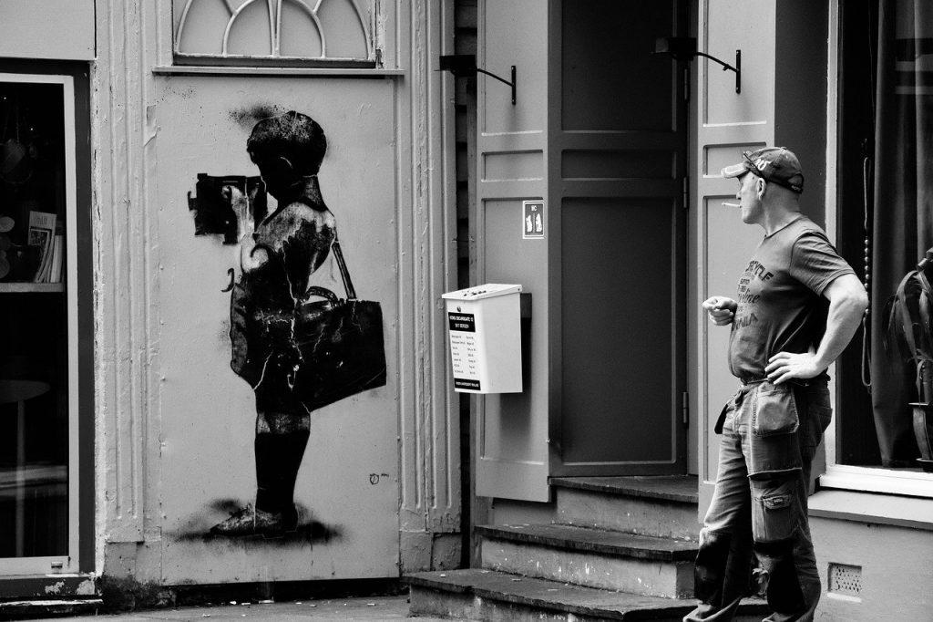 Banksy - Bambino Arte Di Strada
