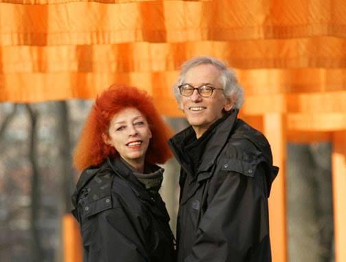 Christo e Jeanne  Fonte: Facebook, pagina ufficiale di Christo