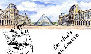 I gatti del Louvre - Due Gatti E Il Louvre