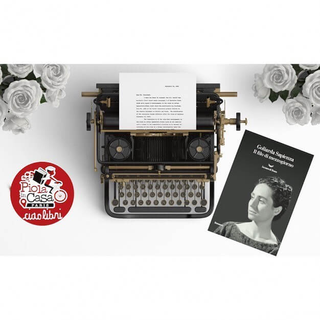CiaoLibri Macchina Da Scrivere con libro
