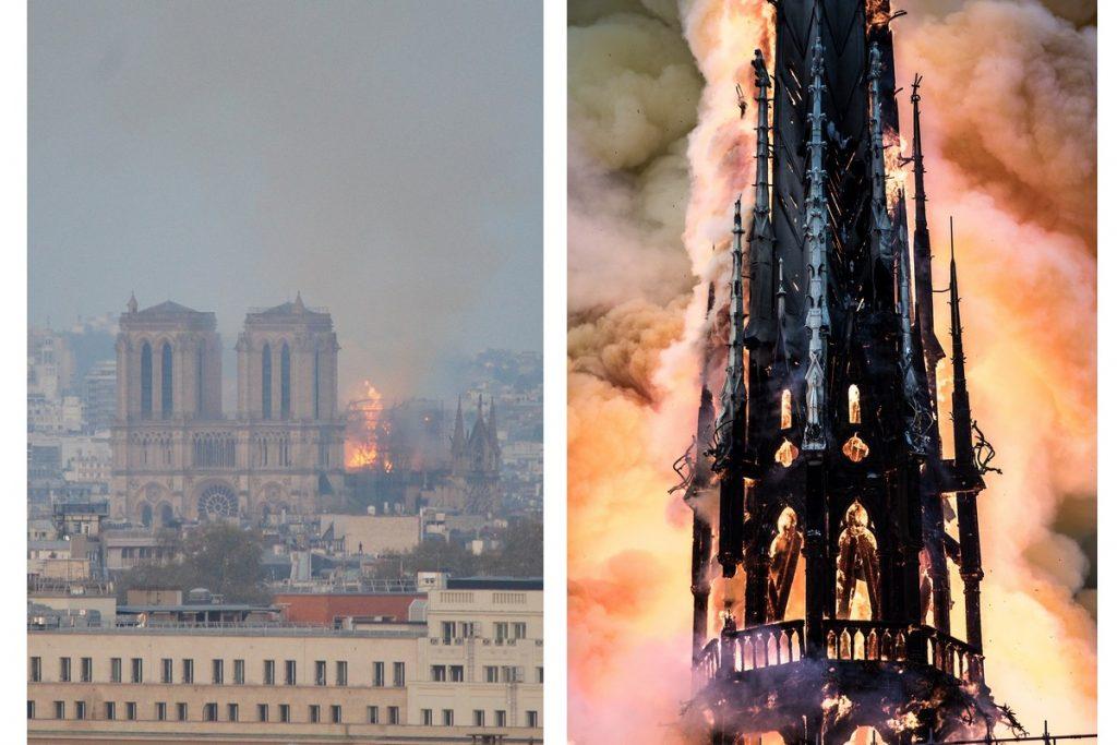 Cattedrale di Nantes - Notre Dame In Fiamme