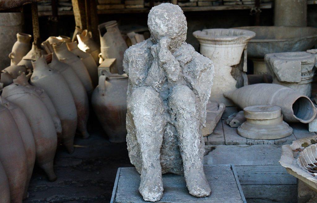 Pompei - Calco Umano Pompei
